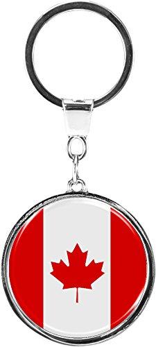 metALUm Schlüsselanhänger aus Metall / Flagge Kanada - / 6610011SJ