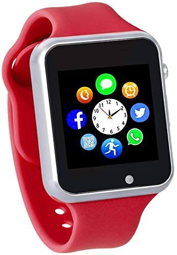 Funntech Smart Watch for Kids for Android Phones with Pedometer Unlocked 2G GSM Phone Call 1.54 Inch Touchscreen Camera
