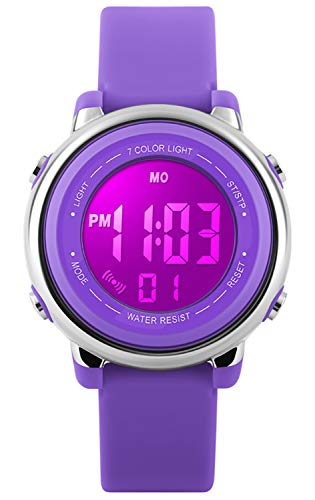 Kids Watch Sport Multi Function 50M Waterproof LED Alarm Stopwatch Digital Child...