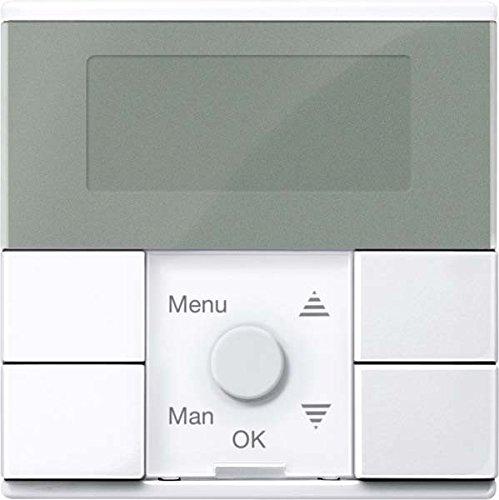 Merten Zeitschaltuhr-Modul MEG5754-0325 aktivweiß glänzend System M Zeitschaltuhr für Installationsschalterprogramme 4042811185565