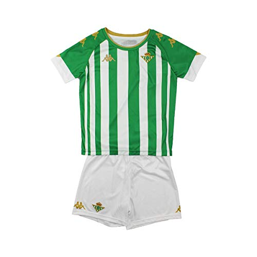 Kappa BABY KIT HOME Conjunto Real Betis, Verde/Blanco, 12M, estándar