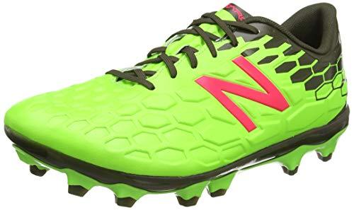 Adidas Visaro 2.0 Mid FG Football Boots, Botas de fútbol Hombre, Verde (Energy Lime/Military Green Energy Lime/Military Green), 43 EU