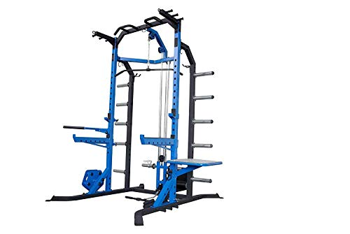We R Sports Power Rack Gym Crossfit Rack - LAT Pull Down -Pull ups - Power Cage