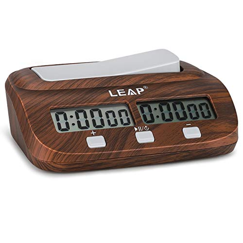 LEAP Digitale Multifunktions - Display Schachuhr Count Up Down Timer elektronische Brettspiel -Wettbewerb Clock Gift Box