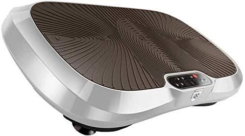 WEIZI Placa de vibración Power Board Máquina de pérdida de Peso Entrenador de vibración de Fitness de Cuerpo Completo Ejercicio Power Plate con Gimnasio en casa