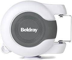 Beldray Cuerda de Tender Doble retráctil LA027016EU para Uso en Exteriores e Interiores, Metros Línea de Lavado Aire...