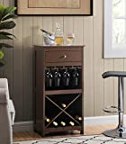 2L Lifestyle Paxton Bar Wine Cabinet, Large, Espresso