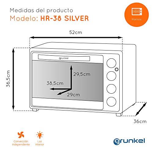 Grunkel HR-38 Silver