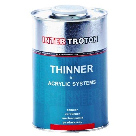 Inter Troton Universal Verdünnung für Acryl-Erzeugnisse 1L Thinner mittel beste Qualität
