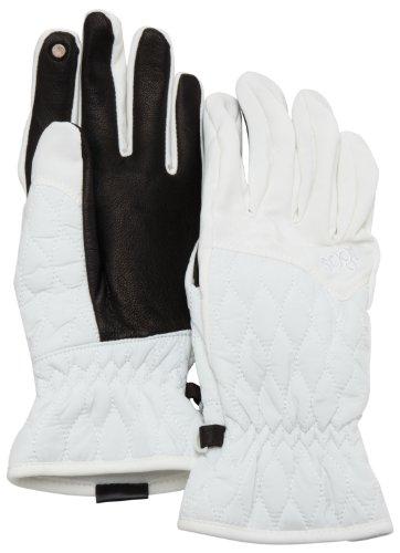 180s Keystone, Guanti Donna, Bianco (Blanc), XL
