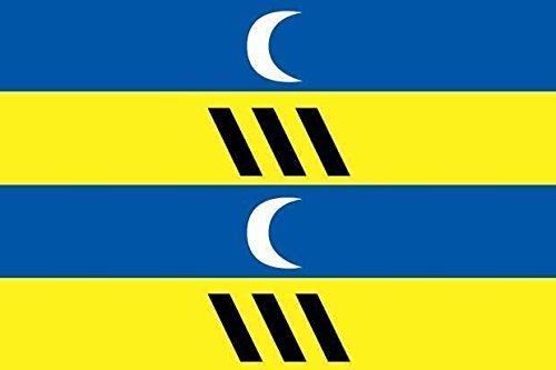 U24 sticker Ameland vlag vlag vlag 15 x 10 cm autosticker sticker