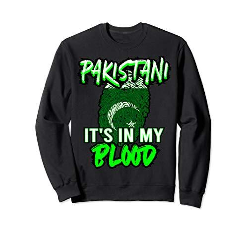 Pakistanisch Pakistani Pakistan Flagge Sweatshirt