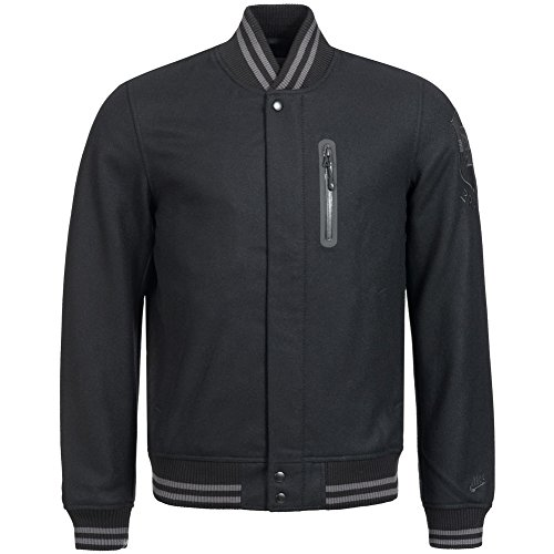 Nike Chaqueta bomber para hombre Brasil All Wool Destroyer 439340-011
