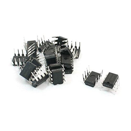 Aexit 20 unids LM358P 3-32V 30nA DIP-8 Paquete Amplificador operacional dual (model: H8654IXII-9672IM) de suministro único