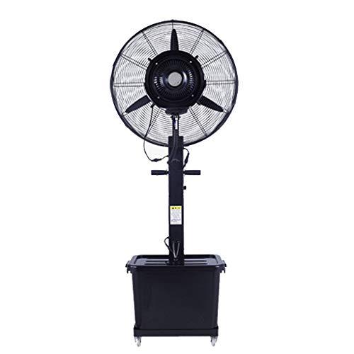Stehen Standventilator Bodenventilator Tragbarer Industrie-Lüfter zur Kühlung von energieeffizienten/nebelschwingenden Standventilatoren Leise, 42 l / 3-Gang / 182 cm, für gewerbliche Zwecke, Lage