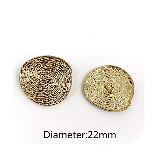 Notre Dames, 22 mm 25 mm, 10 stuks, leeuwenkop, metalen pullover in gouden mantel, decoratie, overhemd, knopen accessoires