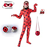 Halloween Ladybug Costume - Red Dress Up Jumpsuit for Birthday Party...