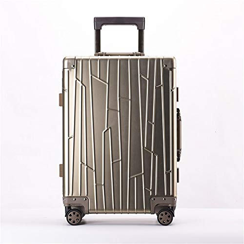 Find Bargain Check-in Suitcase 20 Inch 24 Inch Portable Carry On Luggage Suitcase Aluminum-magnesium...