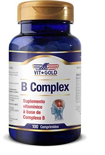 B Complex, 100 Comprimidos - Vit Gold