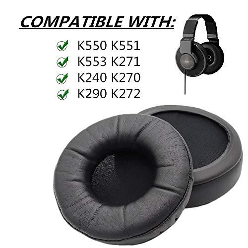 Spessore cuscinetti auricolari Ear Pads Cuscino per AKG K Serie Studio HD MKII K550 K551 K553 K271 K240 K270 K290 K241 K272