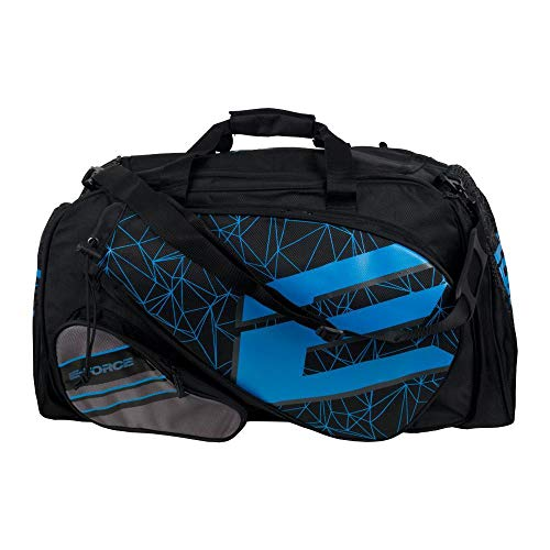 E-Force Racquetball Tournament Bag (Black Blue Graphics)