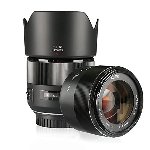 Meike 85 mm f1.8 grande auto focus aperture Full Frame prime teleobiettivo per EOS EF, compatibile con 1D APS-C organi come 5D3 5D4 6D 7D 70D 550D 80D by Zenith Digital Bay