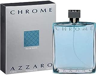 Azzārŏ Chrŏmė Cologne for Men 6.8 Fl. Oz / 200 ml Eau De Toilette Spray