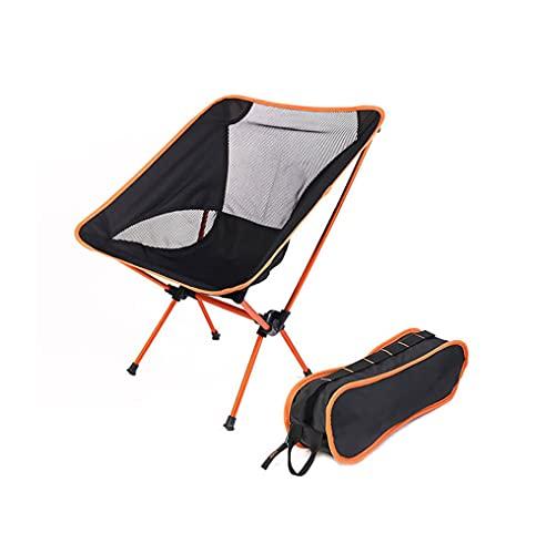 UltraLight silla de viaje plegable, portátil, camping, playa, senderismo, picnic, playa, herramienta de pesca