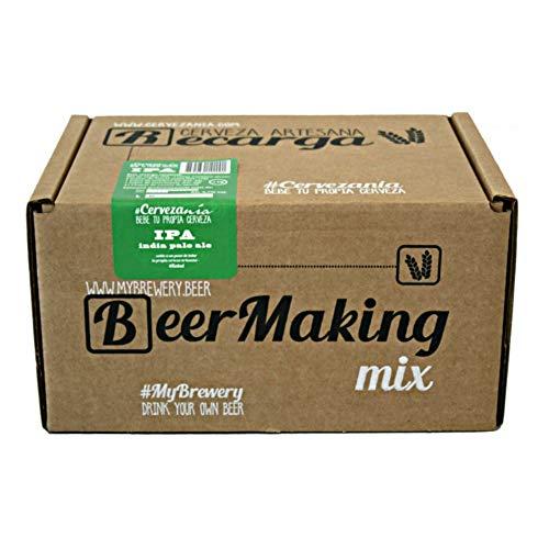 Recarga de materias primas para elaborar cerveza en casa.