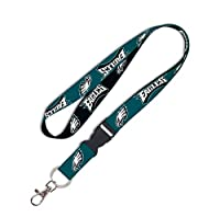 WinCraft 93653010 NFL Philadelphia Eagles Lanyard with Detachable Buckle, 3/4""