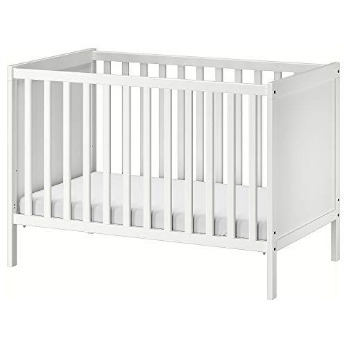 SUNDVIK Kinderbett 60x120 cm weiß