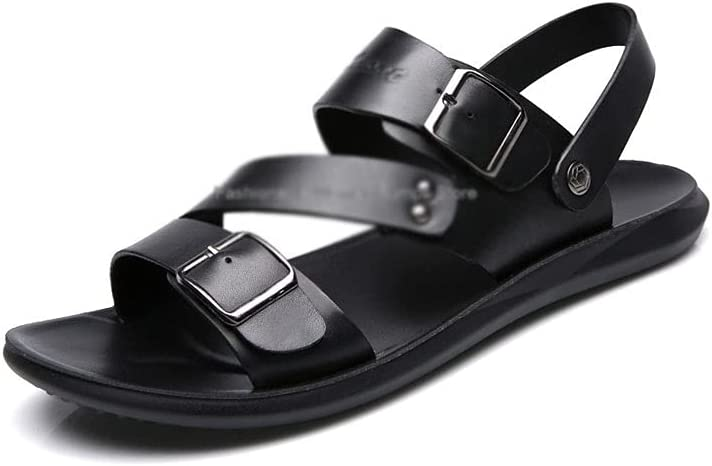 huangsgounslx Men Sandals Recommended Leather Summer Man Limited price Be Fashion