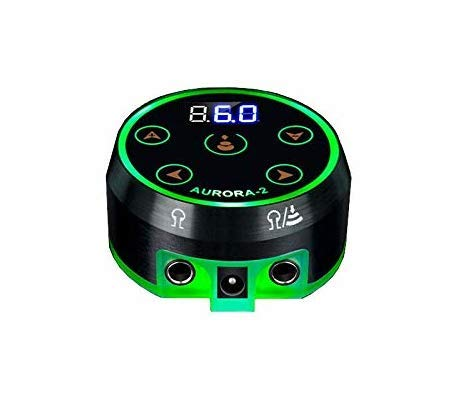 Tattoo Power Supply - Aurora II Power Supply 2nd Gen Colorful Voltage...