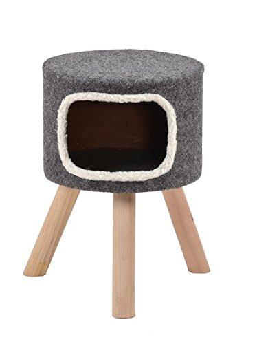 Wohnhöhle für Katzen oder kleine Hunde grau 'Style' Gr.1