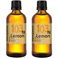 Naissance Aceite Esencial de Limón n. º 103 – 2x100ml (200ml) - 100% puro, vegano y no OGM