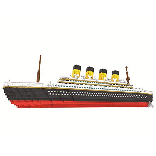 TITST 3800 Piezas Super Titanic Model Building Nanoblock Nano Mini Blocks DIY Game Toy Regalos para Adultos y 14 niños (Cocina)