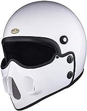 マッドマッスクJ06 マスク付 ジェットヘルメット ホワイト マッドマックス ビンテージ ヘルメット フルフェイス SG/PSC Mad Max HiGH&LOW ハイアンドロー