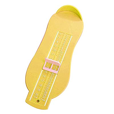 gLoaSublim Baby Foot Measure Gauge,Infants Toddlers Foot Measure Gauge Baby Shoes Fitting Size Measuring Ruler Tool