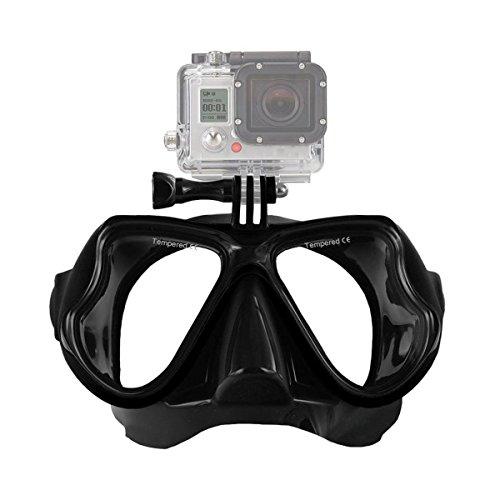 MASUNN Camera Mount Duikmasker Oceanische Scuba Snorkel Zwembril Bril Voor Gopro Action Camera