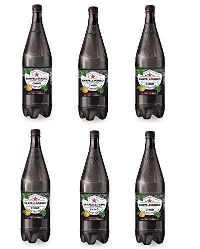 6x Chinotto PET Flasche Chinò Dose 1,25 L San pellegrino Limonade bitterorange