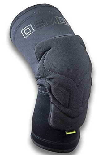 Demon Enduro Mountain Bike Knee Pads|BMX Knee Guards|Snowboard Knee Pads- Ultralight Edition (Comes as a Pair) (MED)