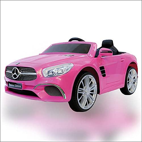 ATAA Mercedes SL400 con Mando para Adultos - Rosa Coche eléctrico para...