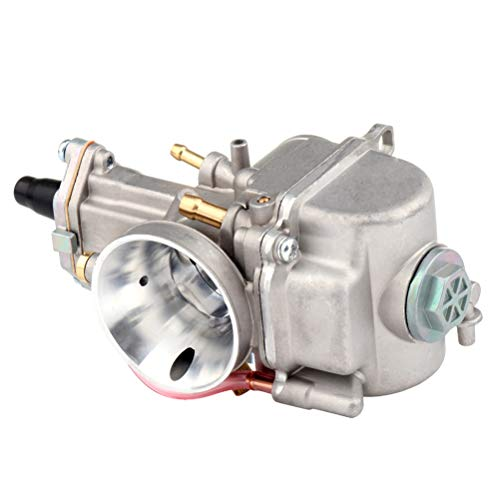 PWK30mm Carburetor Fits Dirt Pit Bike, ATV, Go Kart, Motorcycle, Scooters AUTOMUTO Engines Carb Assembly(not fit Yamaha YZ 250)