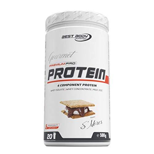 2 x Best Body Nutrition Gourmet Premium Pro Protein, 500g Dose , Milchschokolade (2er Pack)