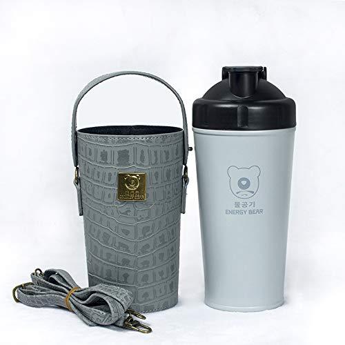 Täglicher Bedarfenergiebärenisolierung Alkalische Mineralenergie Wasserkocher Wasserbecher Health Cup Bubble Tea Grau 700Ml