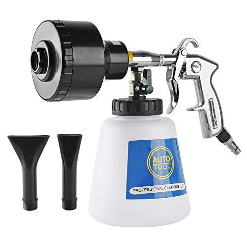 Preisvergleich Produktbild YAOBLUESEA Druckluft Schaumpistole Reinigungspistole Reinigungspistole Foam Gun Schaumpistole Wie Tornador mit 2 AUFSÄTZE