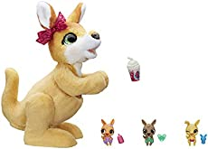 furReal Mama Josie The Kangaroo Interactive Pet Toy, 70+ Sounds & Reactions, Ages 4 & Up