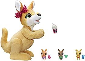FurReal - Mama Josie the Kangaroo - interactive plush toy - 70+ sounds & motions - Companion Toys for kids, boys, girls...