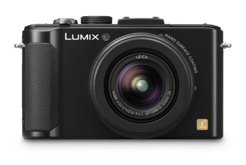 Panasonic Lumix LX7 Digital Camera with LEICA F1.4 Summilux Lens - Black (10.1 MP, 3.8x Optical Zoom) 3 inch LCD