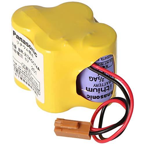 Pansonic Lithium Batterie CNC BR-2/3AGCT4A, Fanuc A98L-0031-0025